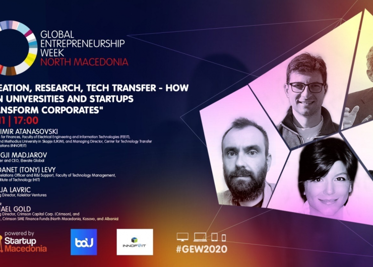 BAU and INNOFEIT – Global Entrepreneurship Week 2020 (GEW 2020)